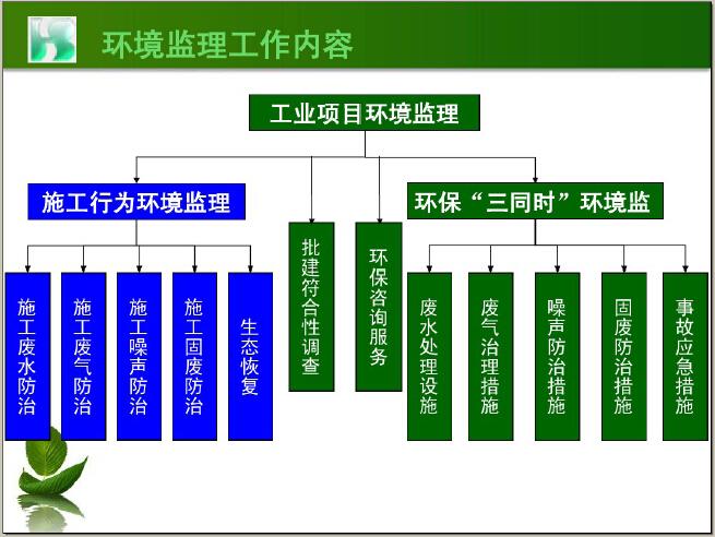 工业项目环境监理案例讲义(图文并茂)