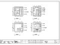 新派泰式风格珠海丽景湾样板房室内设计施工图