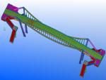 滨河东路平三街人行天桥安装施工方案