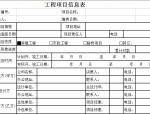 石材工程项目管理表格样式(精细版)