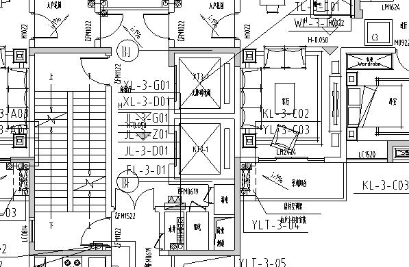 南京高层住宅小区给排水施工图(三期)