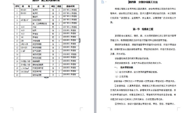 碧桂园凤凰城R区二期机电施工组织设计_4