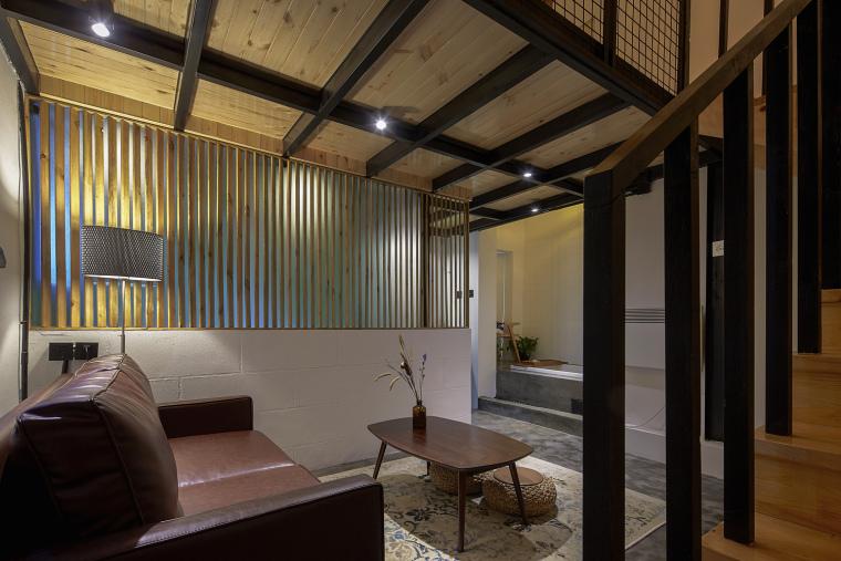 北京北海百年糖房改造-136-白糖客房楼梯