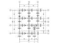 [北京]二层轻钢框架结构别墅结构施工图(CAD、21张)
