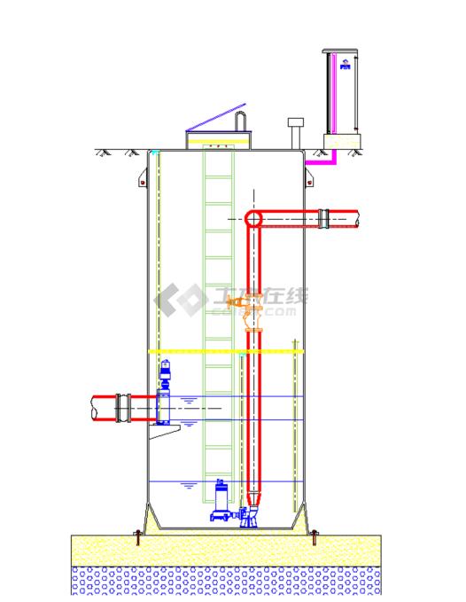 最全的一体化泵站设计图纸参考