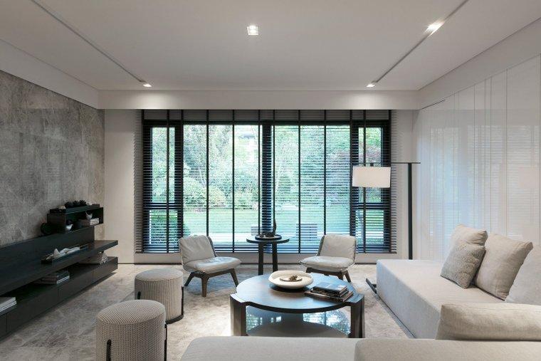 唐忠汉新作-秋韵·向度:455m²北京复层别墅室内设计方案文本