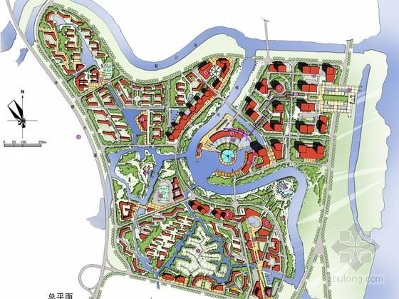 [长沙]国家级城市湿地公园周边地区设计方案