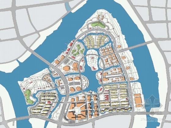 [宁波]休闲滨水新兴城市景观规划设计方案