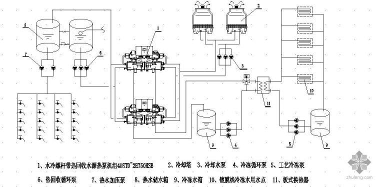 热泵系统图