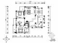 一小套经典三居室家装施工图