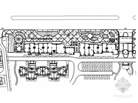 [北京]现代商业区景观规划设计施工图