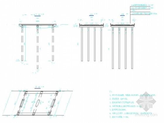 [天津]道路桥梁施工图设计30张