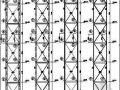 某工厂放空管道钢结构支撑图