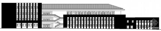 [金陵]某校娶后勤中心及第二食堂建筑施工图