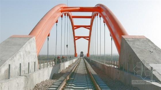 高速铁路系杆拱桥结构方案设计报告(部级重大课题)