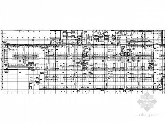 [浙江]地下车库通风防排烟设计施工图