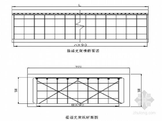 城市立交桥箱涵(明涵)施工技术方案