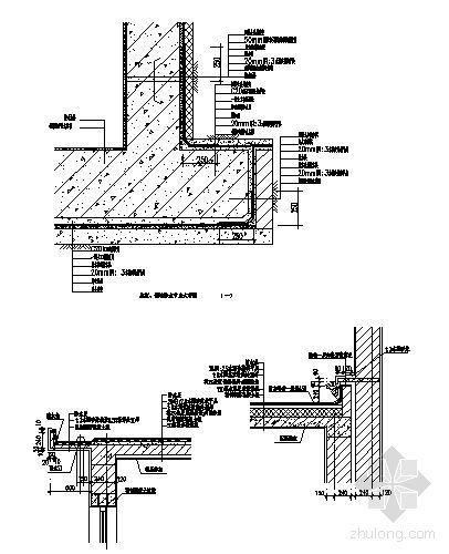 底板、侧墙防水节点大样图2