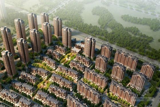 [河北]框剪结构高层住宅小区工程项目策划书(图文丰富)