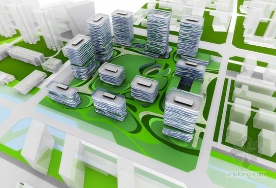[成都]大中型企业产业园办公集群规划设计方案文本