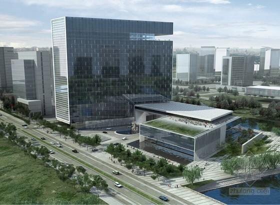 [江苏]框剪结构高层金融办公楼工程钢筋专项施工方案(70页 附图多)