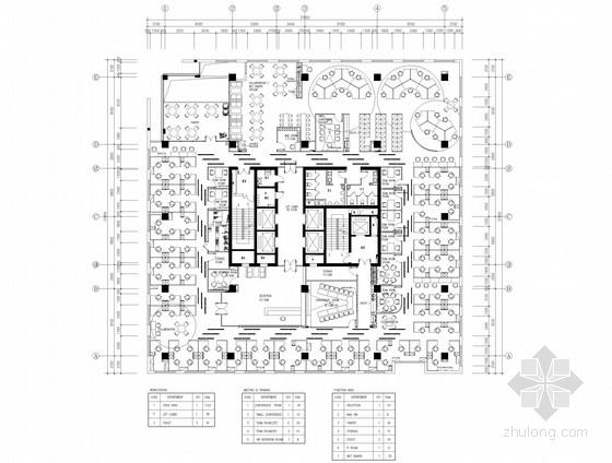[成都]某设计院设计的现代商业办公空间施工图(含效果图)