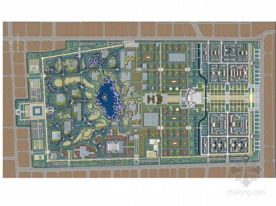 [西安]唐大明遗址公园景观规划设计方案