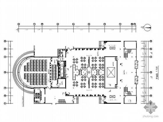 省航天科技产业基地开发公司办公楼装修图