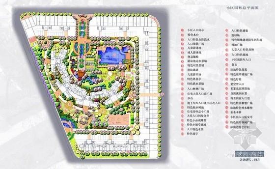 居住区花园景观规划设计方案