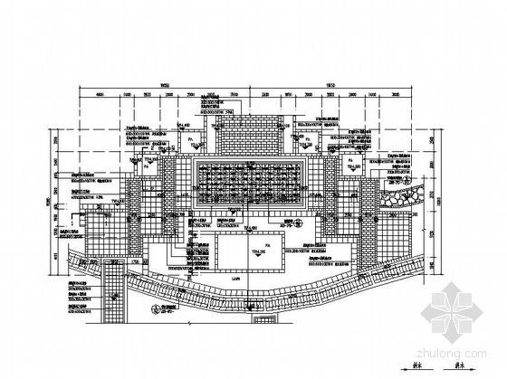 组合花池施工图