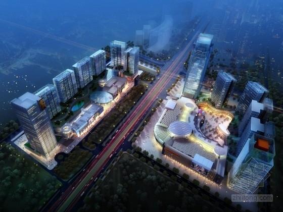 [南京]某大型城市综合体规划及单体设计方案文本