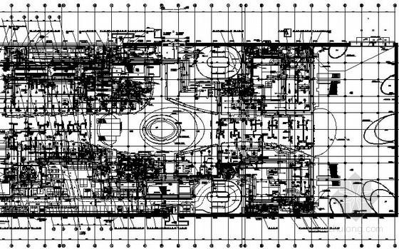 [哈尔滨]知名店铺空调设计施工图