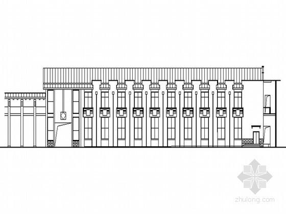 [怀化]某电力公司综合楼1号楼建筑施工图