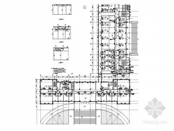 [河南]办公用楼空调系统及防排烟设计施工图