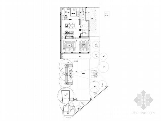 [江苏]时尚现代大气的三层别墅设计方案(含实景图)