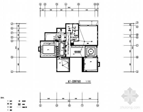 某三层别墅装饰电气图纸