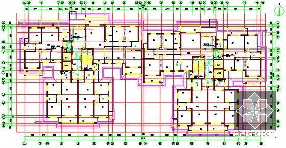 [全套]湖南保障房项目消防工程量清单控制价编制实例(含招标文件施工图纸300张标底)-一层报警平面图