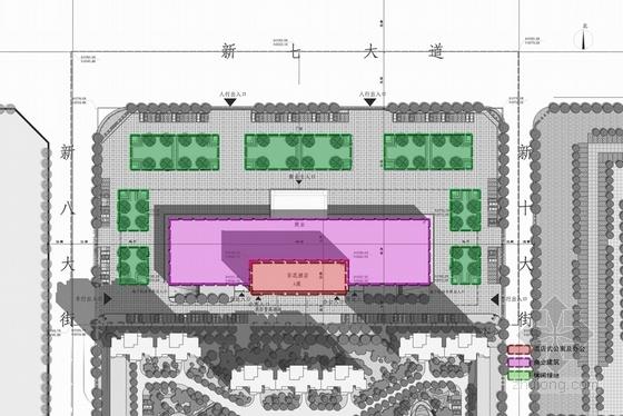 [河南]26层现代风格高档酒店公寓设计方案文本-26层现代风格高档酒店公寓分析图