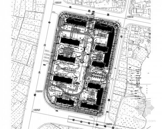 [浙江]高层住宅及配套物业商铺电气设计施工图纸(2015年设计完成)
