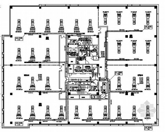 [江苏]工业坊改造升级项目暖通空调设计施工图(127张图纸 含审图意见)