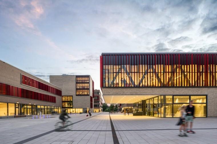 万漪景观分享--德国鲁尔西部大学新园区_3
