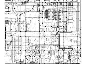 [长沙]15万平超大型购物中心电气施工图(变电所、270张图)