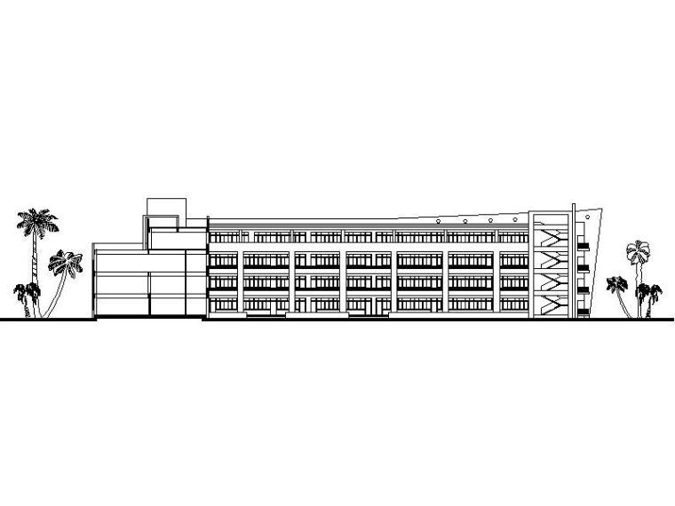 [福建]现代风格沿海36班小学建筑设计方案图纸