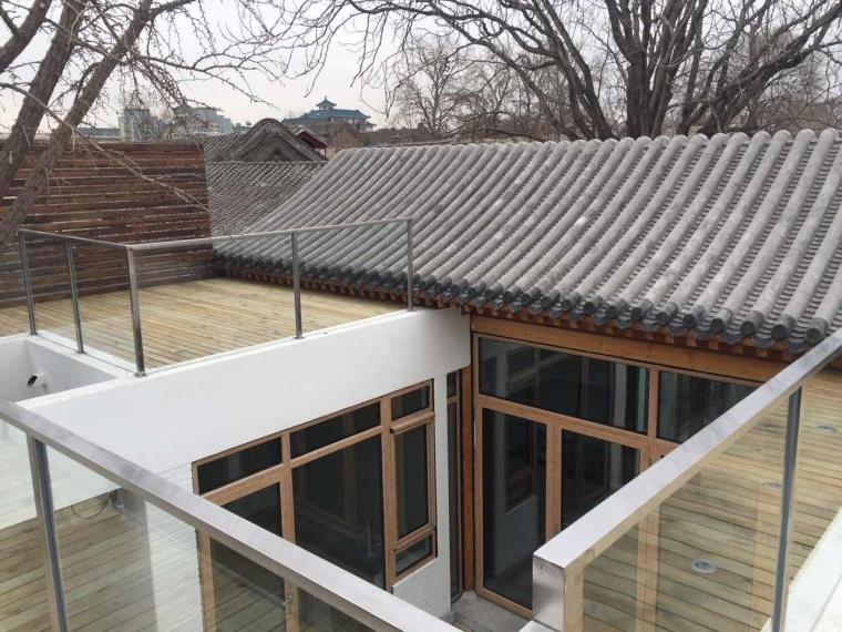 二层露台-北京西城区东新帘子四合院第1张图片