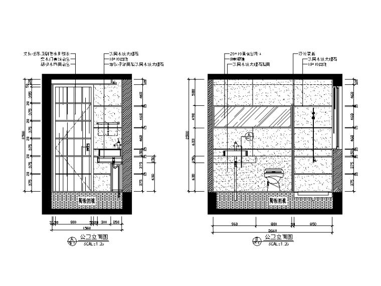 [广东]新中式风格别墅v风格CAD施工图(含效果图cad是基点什么复制图片