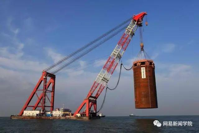 用钢圆管筑岛,港珠澳大桥人工岛这方案完胜日本|了不起的中国_7