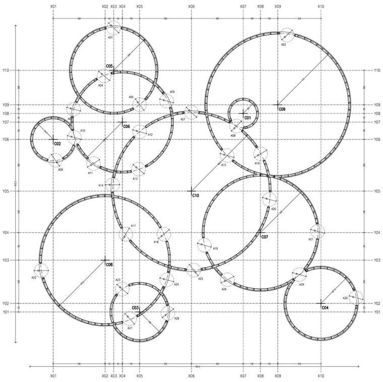 这个智利建筑事务所设计房子,几乎像是一场方形、圆形或其他元素_19