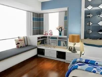 卧室惊艳地变了样还多了小资地儿,阳台飘窗改造术_8
