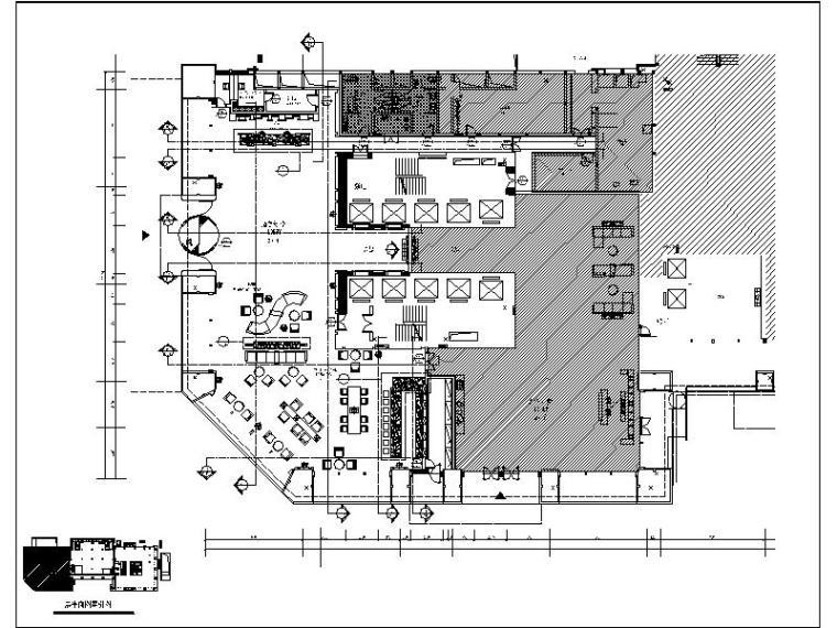 [成都]综合性高端酒店大堂设计施工图(含效果图)