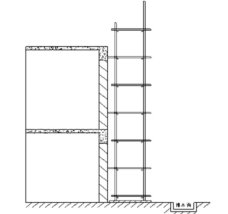 3层框架结构厂区项目脚手架工程施工方案(53页)